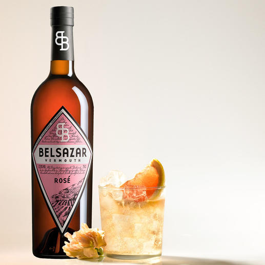 Belsazar Rosé, Vermouth, Deutschland - Der hippe Trend in den angesagten Bars: Vermouth in feinster Handwerksqualität.