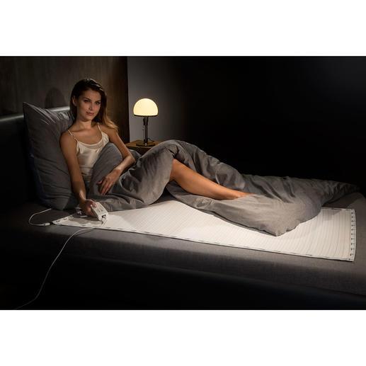 12-V-Wärmeunterbett - Viel sicherer und bequemer: das Wärmeunterbett mit 12-V-Niederspannung (statt 230 V).