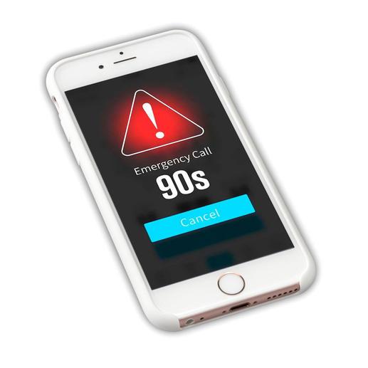 ... und eine SOS-Nachricht mit GPS-Ortung ruft im Notfall nach 90 Sekunden Hilfe herbei.