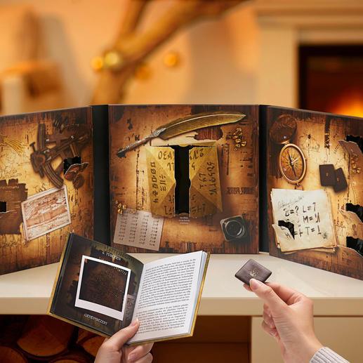 Adventkalender Criminal Christmas III inkl. 24 Pecaré®-Täfelchen - Mit Detektiv Ruprecht und 24 himmlischen Versuchungen. Von Peters, Edel-Confiserie mit 80-jähriger Tradition.