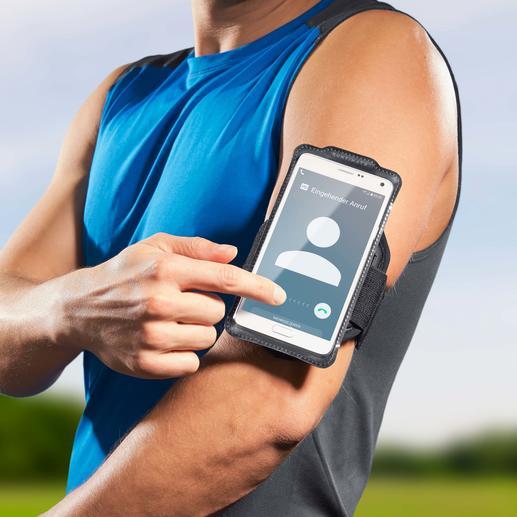 Über die Sensor-Touch-Folie lässt sich Ihr Smartphone problemlos direkt in der Hülle bedienen.