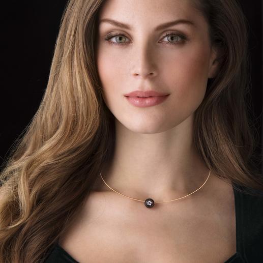 Diamant-Perlen-Collier