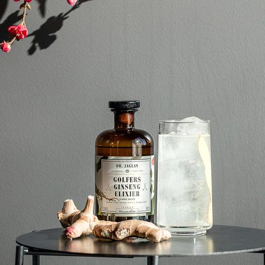 Golfers Ginseng-Elixier, 500 ml - Von der Klosterapotheke zum trendigen Drink: DR. JAGLAS Golfers GinsengElixier.
