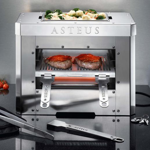 Steaks grillen bei bis zu 800 °C – jetzt auch im Haus (statt nur im Garten).