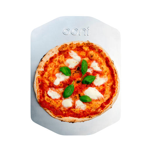 Aluminium-Pizzaschieber separat erhältlich.