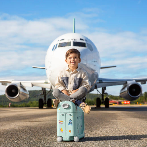 BedBox® - Verwandelt den Flugzeugsitz Ihres Kindes in ein komfortables Bett.