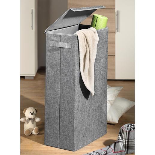 Platzspar-Aufbewahrungsbox - Elegant verschwinden Schmutzwäsche, Stuhlpolster, Kinderspielzeug, Sport- und Bastelsachen, ...