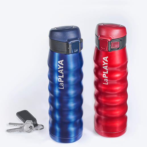 Thermobecher New Bubble Safe - Der bessere Thermobecher: 100 % dicht. Selbst bei Getränken mit Kohlensäure.