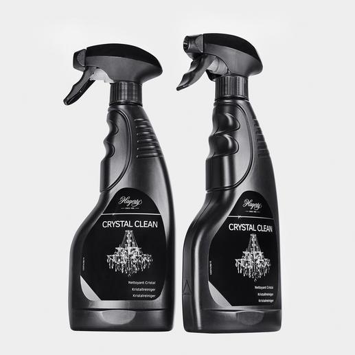 """""""Crystal Clean"""" mit Selbstreinigung: einfach aufsprühen und abperlen lassen. Kein lästiges Abwaschen und Polieren."""