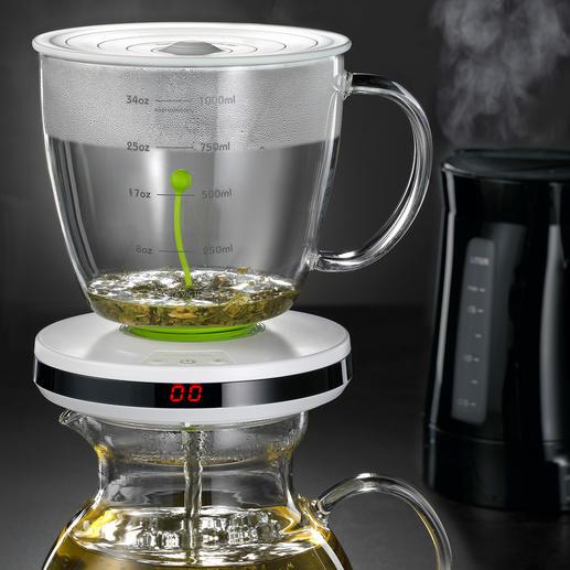 Teebereiter mit Ziehzeit-Automatik - Intelligente Ziehzeit-Automatik brüht verschiedenste Teesorten punktgenau.