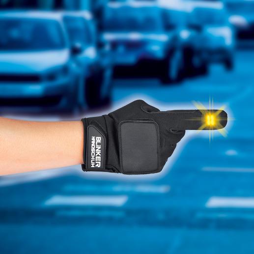 Mehr Sicherheit für Radfahrer: Der Blinker im Handschuh. Mehr Sicherheit für Radfahrer: Der Blinker im Handschuh.