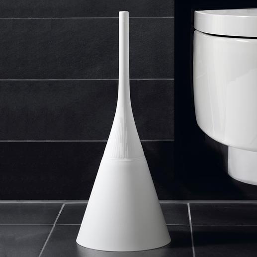 Design-WC-Bürste - Kein Vergleich zum funktionalen Look üblicher WC-Bürsten.