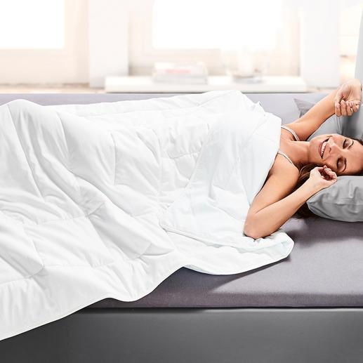 HEFEL Cool Sommerdecke - Erholsamer Schlaf auch in heißen Sommernächten.