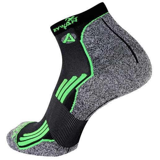 No-Limit-Sportsocke, je Paar - Ultrafein. Ultraleicht. Ultrastark. Von Rywan, Spezialist für Hightech-Socken mit mehr als 60 Jahren Erfahrung.