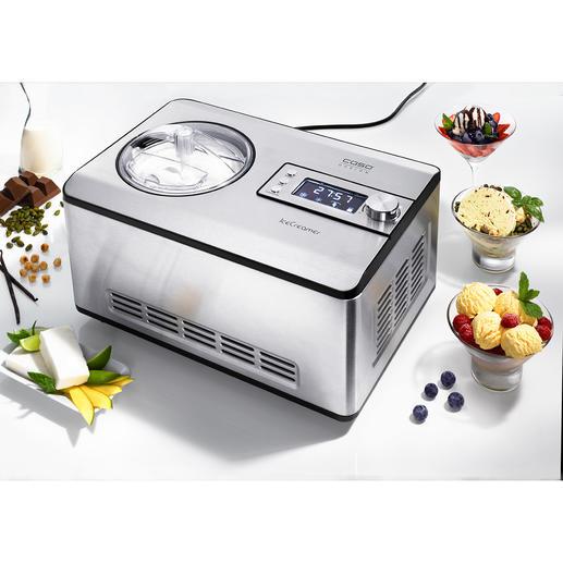 2-l-Kompressor-Eismaschine IceCreamer Mit der Kühltechnik großer Profi-Geräte. Zum sehr attraktiven Preis.