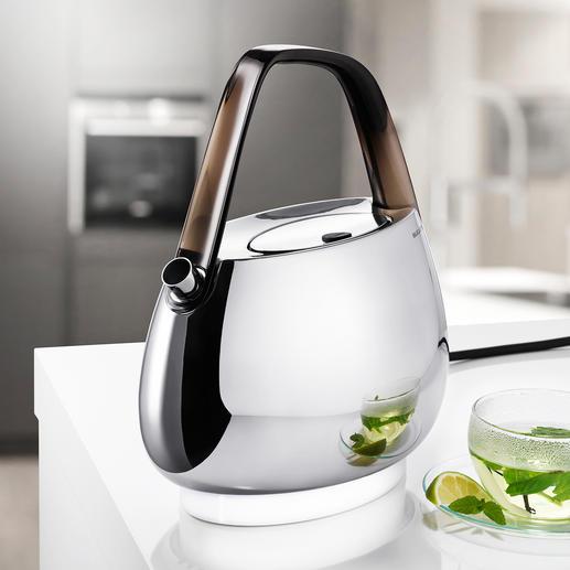 Bugatti® Design-Wasserkocher - Außen Design-Objekt, innen Hightech: der Wasserkocher von Bugatti®.