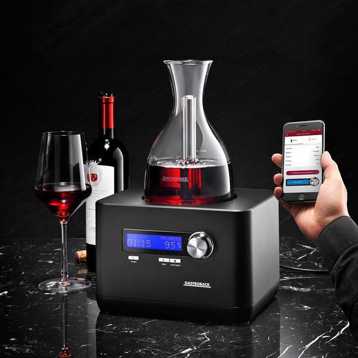 HomeSommelier - Geniale Erfindung belüftet Ihren Wein mit hochkonzentriertem Sauerstoff. In wenigen Minuten (!).