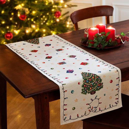 Erhältlich auch als weihnachtlicher Tischläufer.