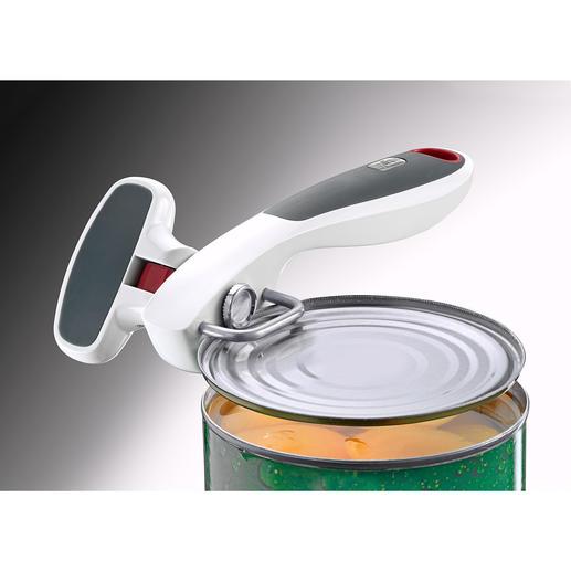 Zyliss® Safe-Edge-Dosenöffner - Best of five: Unser Dosenöffner-Testsieger. Der Safe-Edge vom Küchenprofi Zyliss®, Schweiz.