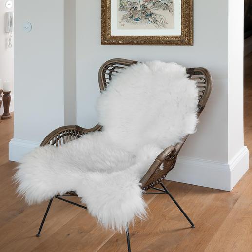 Luxus-Schaffell Natur pur der Premiumklasse: die Felle freilaufender Hochlandschafe der Britischen Inseln.