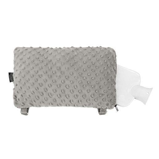 Mobiles Thermo-Kissen - Das kuschelig weiche Thermo-Kissen mit flexiblem Handfrei-Gurtsystem.