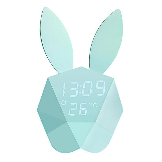 Cutty Clock - Weckt sanft. Und lässt auf Fingerschnipp Uhrzeit und Temperatur aufleuchten.