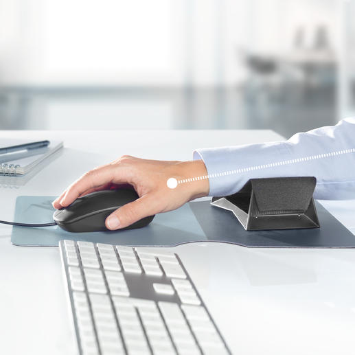 Zero G glider® Unterarmgleiter - Diese Gleitauflage unterstützt Ihren Unterarm bei jeder Mausbewegung. Hand, Arm und Schulter werden wirkungsvoll entlastet.