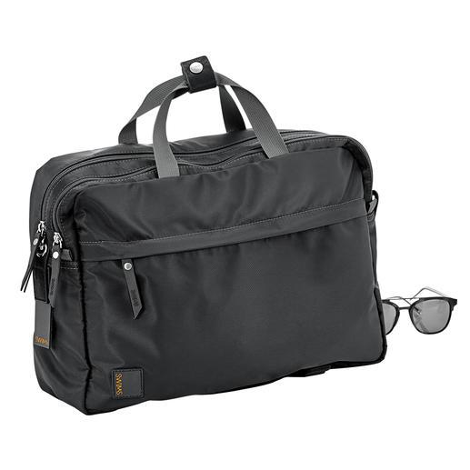 Swims Allround-Rucksack-Tasche - Die korrekte Business-Tasche, die auch ein Fahrrad-tauglicher Rucksack ist. Und umgekehrt.
