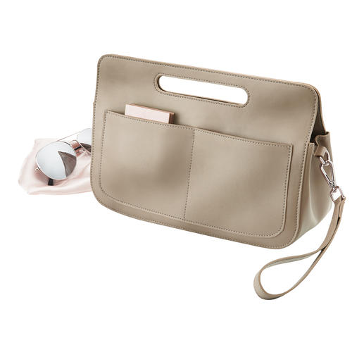&bag Elegante Pochette. Professioneller Organizer. Und geniale Bag in Bag.