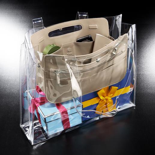 Ideal auch als Innentasche für Businessbag oder Shopper.