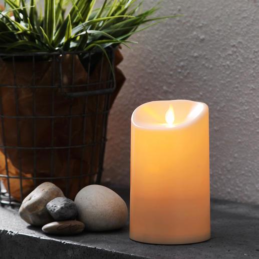 TWINKLE LED-Outdoor-Kerze Wetterfeste LED-Outdoor-Kerzen – durch lebendigen Flammeffekt noch realistischer.
