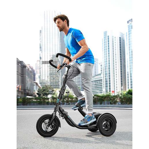 Me-Mover Fitness Der erste Stepper auf Rädern. Verbindet Fitness mit Mobilität und Lifestyle.