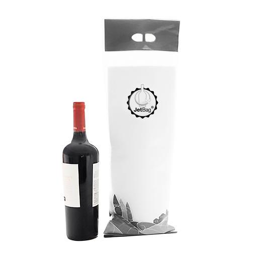 JetBag™, 3er-Set - Endlich reisen zerbrechliche Flaschen doppelt sicher. Schützend gepolstert & auslaufdicht wie eine Babywindel.