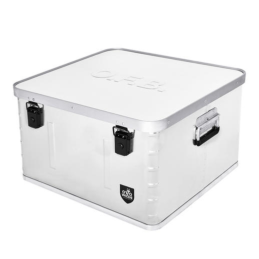 Aufbewahrungsbox - Praktische Aufbewahrungs- und Transportbox aus Aluminium.