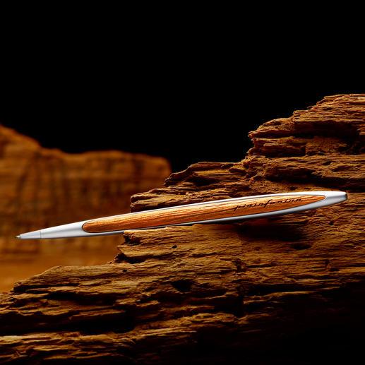 Pininfarina Kugelschreiber Kauri-Wood - Die typische Handschrift Pininfarinas: der Kugelschreiber aus 48.000 Jahre altem Kauri-Holz.