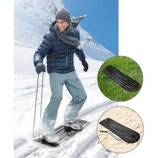 Ganzjahres-Fun-Board - Gleitet auf Schnee, Eis, feuchtem Gras, Sand, ...