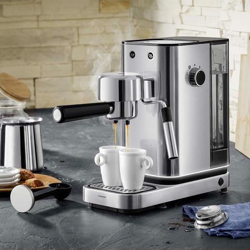 WMF Espresso-Maschine Lumero - Professionelle Thermoblock-Technologie. Einfachste Bedienung. Elegantes Edelstahl-Design.