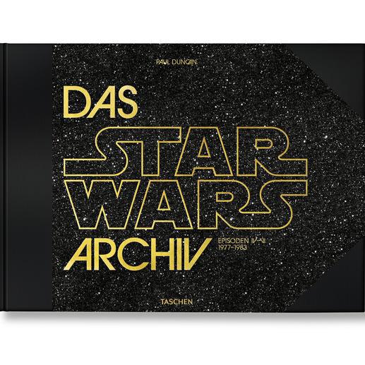 """Buch """"Das Star Wars Archiv"""" - Die XXL-Dokumentation zum wohl größten Kino-Kosmos aller Zeiten. Reich bebildert und mit detaillierten Hintergrund-Informationen."""