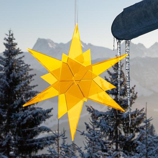 Cazador-del-sol® Sonnenfänger-Sterne Spektakulär auf großen Events – und in Ihrem Garten. Rein durch Tageslicht wird das Leuchten entfacht.