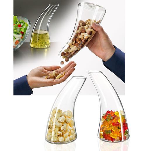 Snack-Spender/Karaffe - Die schönere (und appetitlichere) Art Knabbereien zu servieren.