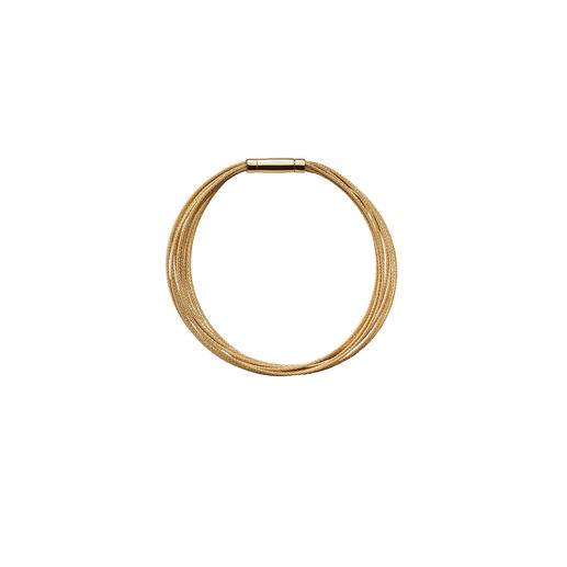 10-reihiges Gold-Armband