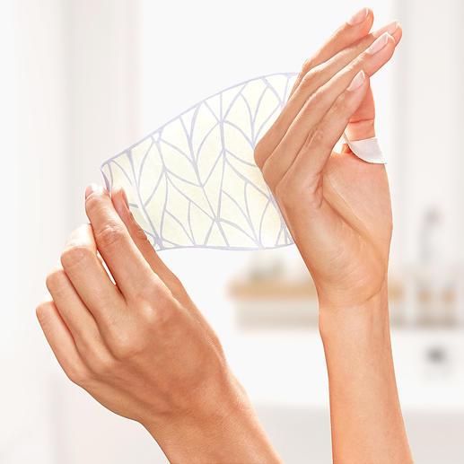 Age Correct Hand Mask, 2 Paar als Set Anti-Aging für die Hände: Dry Mask pflegt sie wieder seidenzart – ohne zu fetten.