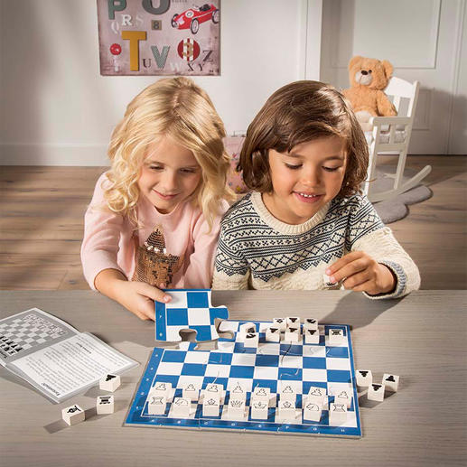 Chess Junior - Kinderleicht Schach lernen – mit ganz viel Spannung und Spaß.