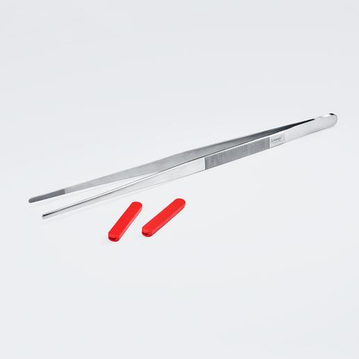 Auf Wunsch können Sie die Silikonspitzen abnehmen – praktisch z. B. für die Verwendung am Grill.