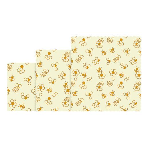 Bienenwachstücher, 3er-Set oder Bienenwachstuch-Rolle