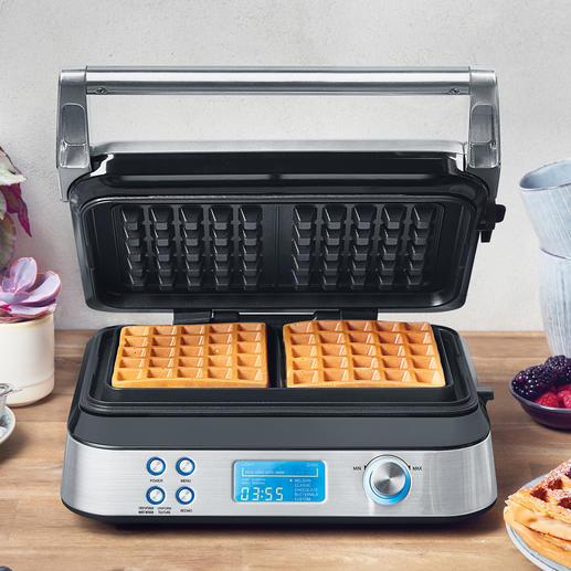 Gastroback Waffelautomat Advanced Control Geniales Multitalent backt Waffeln in köstlichen Variationen. Für jeden Geschmack.