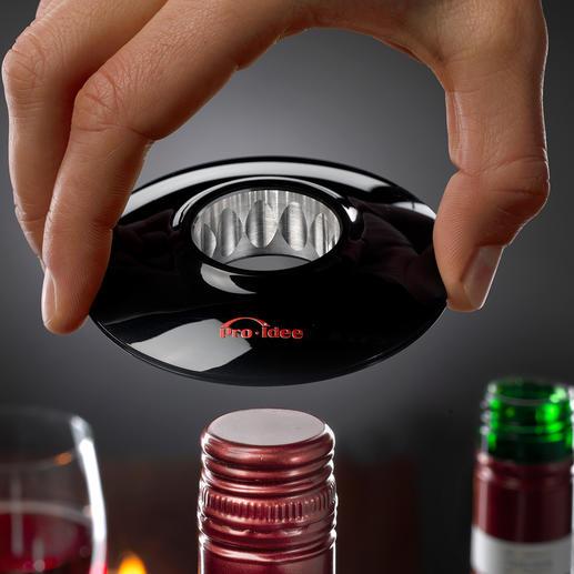 Wine-Donut® Lifestyle-Objekt und praktisches Wein-Accessoire zugleich.