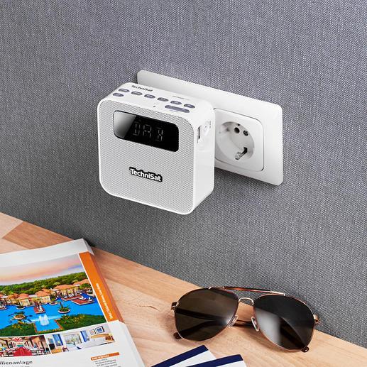 Technisat Steckdosenradio DAB+ - Ihr kabelloses Musikcenter im Kompaktformat. Ideal für zu Hause und unterwegs.