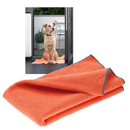 Bioaktives Haustier-Handtuch, 3er-Set Ruck-zuck: Fell trocken. Pfoten sauber. Und keine unangenehmen Gerüche.