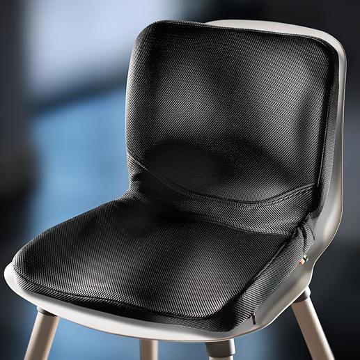 P!NTO Sitzauflage - Wer weiß mehr über richtiges Sitzen als die Frau, die Tausende maßgeschneiderte Sitzlösungen für Menschen mit Handicap gefertigt hat.